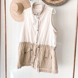 Linen Maurice's Vest